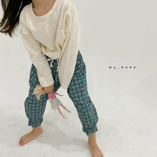 MY BEBE - BRAND - Korean Children Fashion - #Kfashion4kids - Flower Print Pants