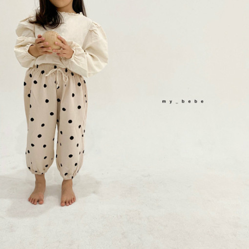 MY BEBE - BRAND - Korean Children Fashion - #Kfashion4kids - Sausage Pants