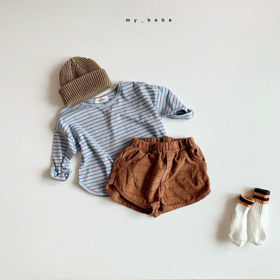 MY BEBE - Korean Children Fashion - #Kfashion4kids - Corduroy Short Pants - 10