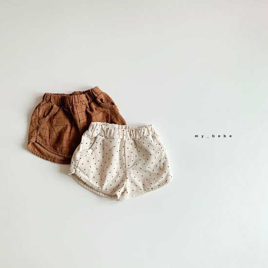 MY BEBE - Korean Children Fashion - #Kfashion4kids - Corduroy Short Pants - 2