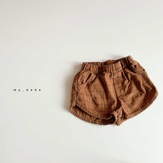 MY BEBE - Korean Children Fashion - #Kfashion4kids - Corduroy Short Pants - 5