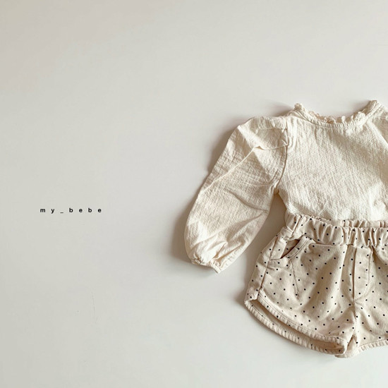 MY BEBE - Korean Children Fashion - #Kfashion4kids - Corduroy Short Pants - 7