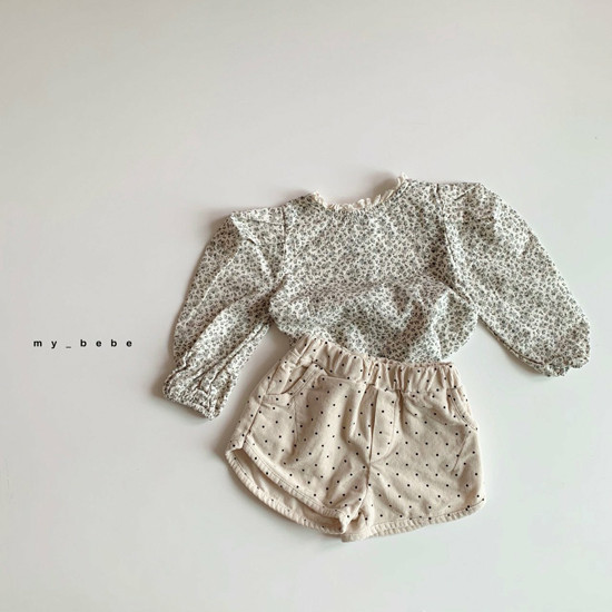 MY BEBE - Korean Children Fashion - #Kfashion4kids - Corduroy Short Pants - 8