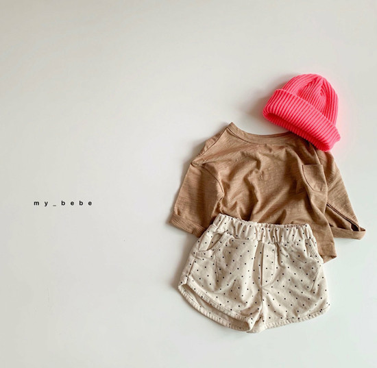MY BEBE - Korean Children Fashion - #Kfashion4kids - Corduroy Short Pants - 9