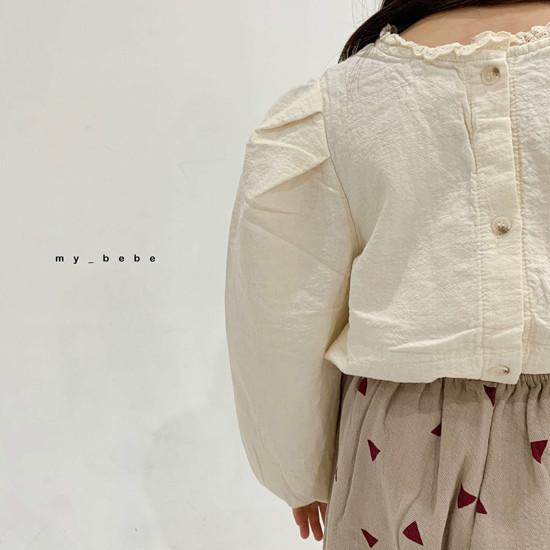 MY BEBE - Korean Children Fashion - #Kfashion4kids - Puff Blouse - 11