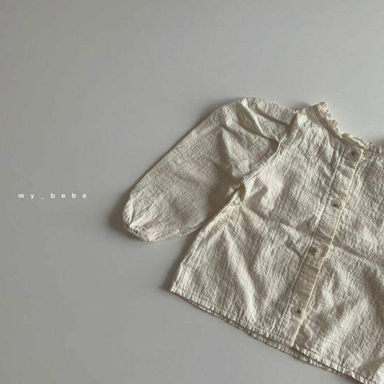 MY BEBE - Korean Children Fashion - #Kfashion4kids - Puff Blouse - 5