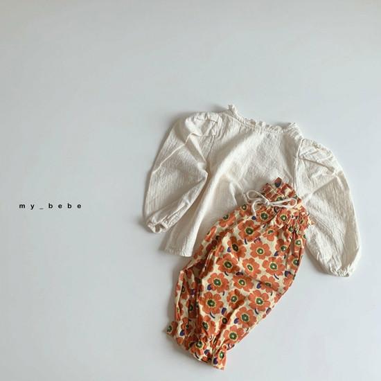MY BEBE - Korean Children Fashion - #Kfashion4kids - Puff Blouse - 6