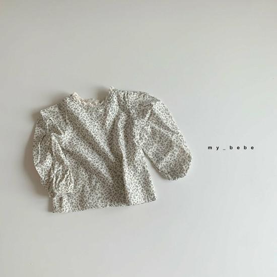 MY BEBE - Korean Children Fashion - #Kfashion4kids - Puff Blouse - 8