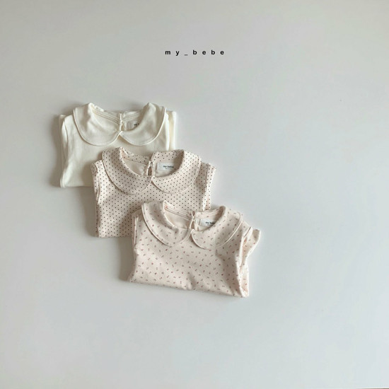 MY BEBE - Korean Children Fashion - #Kfashion4kids - Collar Tee