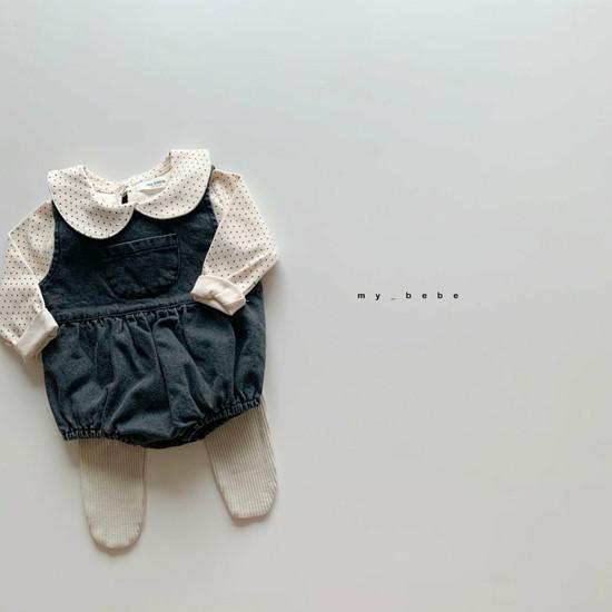 MY BEBE - Korean Children Fashion - #Kfashion4kids - Collar Tee - 10