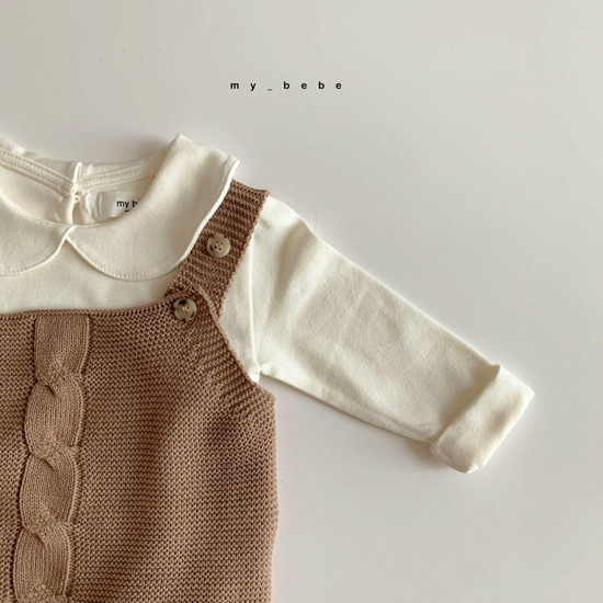 MY BEBE - Korean Children Fashion - #Kfashion4kids - Collar Tee - 11