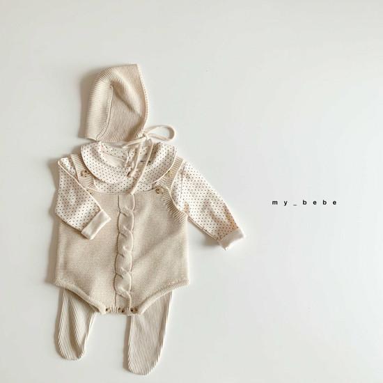 MY BEBE - Korean Children Fashion - #Kfashion4kids - Collar Tee - 12