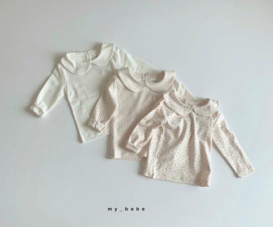 MY BEBE - Korean Children Fashion - #Kfashion4kids - Collar Tee - 2