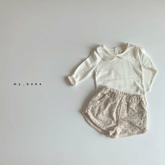 MY BEBE - Korean Children Fashion - #Kfashion4kids - Collar Tee - 3