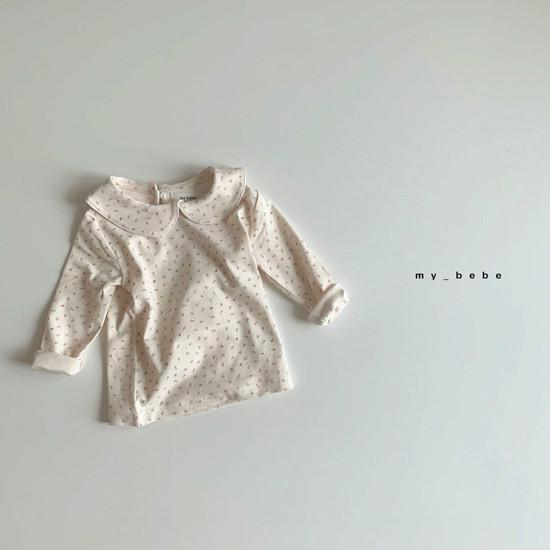 MY BEBE - Korean Children Fashion - #Kfashion4kids - Collar Tee - 6