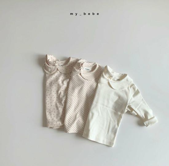 MY BEBE - Korean Children Fashion - #Kfashion4kids - Collar Tee - 7