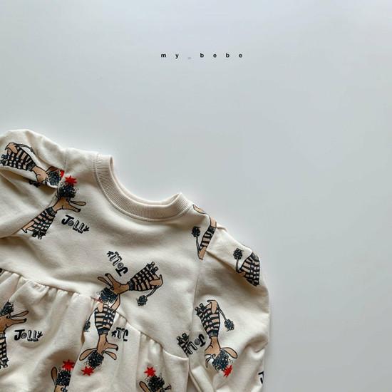 MY BEBE - Korean Children Fashion - #Kfashion4kids - Puddle One-piece - 5
