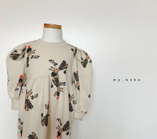 MY BEBE - Korean Children Fashion - #Kfashion4kids - Puddle One-piece - 6