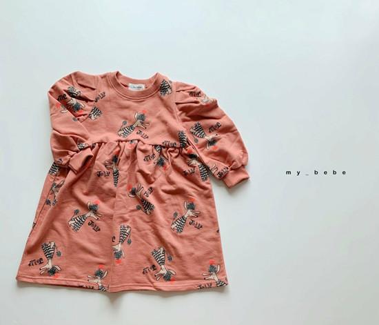 MY BEBE - Korean Children Fashion - #Kfashion4kids - Puddle One-piece - 7