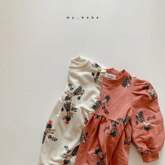 MY BEBE - Korean Children Fashion - #Kfashion4kids - Puddle One-piece - 9