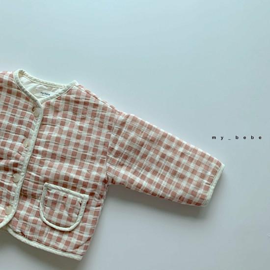 MY BEBE - Korean Children Fashion - #Kfashion4kids - Bonding Piping Jacket - 10