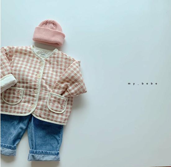 MY BEBE - Korean Children Fashion - #Kfashion4kids - Bonding Piping Jacket - 11