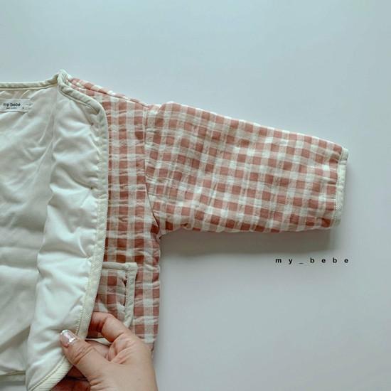 MY BEBE - Korean Children Fashion - #Kfashion4kids - Bonding Piping Jacket - 12