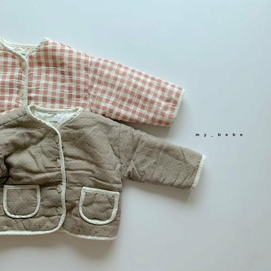 MY BEBE - Korean Children Fashion - #Kfashion4kids - Bonding Piping Jacket - 2