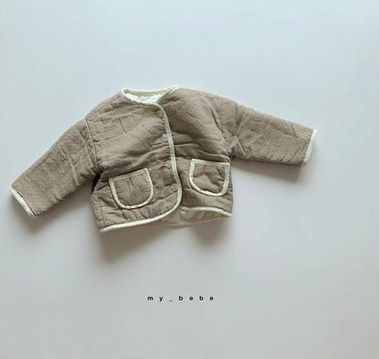 MY BEBE - Korean Children Fashion - #Kfashion4kids - Bonding Piping Jacket - 3