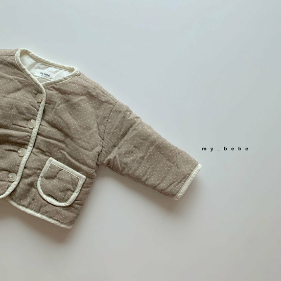 MY BEBE - Korean Children Fashion - #Kfashion4kids - Bonding Piping Jacket - 4