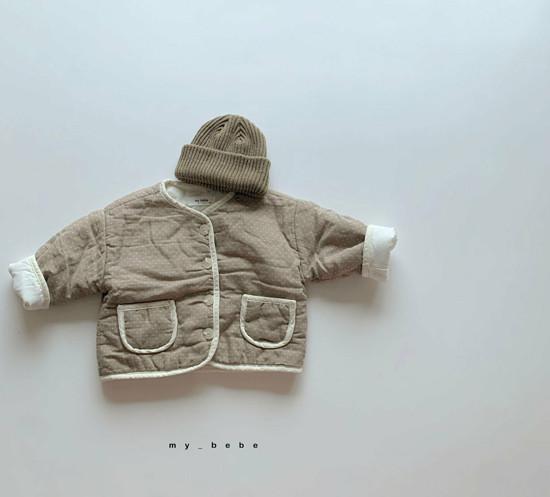 MY BEBE - Korean Children Fashion - #Kfashion4kids - Bonding Piping Jacket - 5