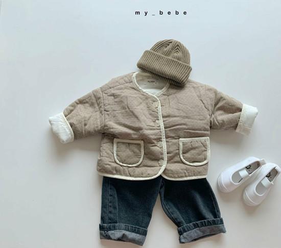 MY BEBE - Korean Children Fashion - #Kfashion4kids - Bonding Piping Jacket - 6