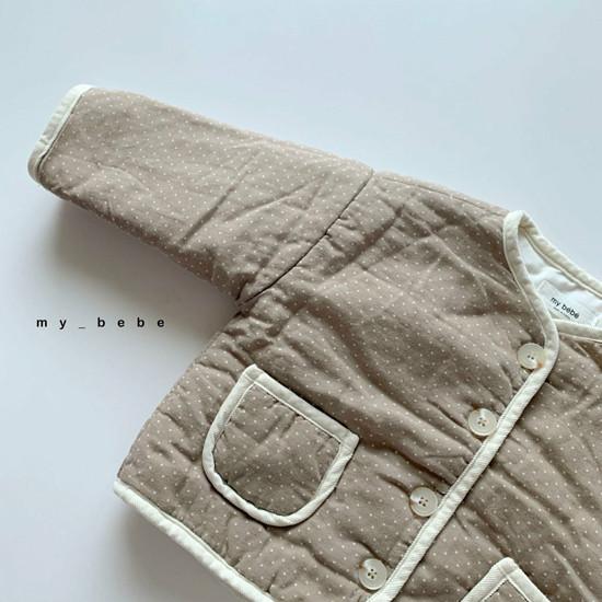 MY BEBE - Korean Children Fashion - #Kfashion4kids - Bonding Piping Jacket - 7