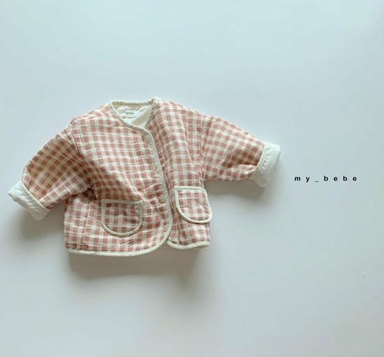 MY BEBE - Korean Children Fashion - #Kfashion4kids - Bonding Piping Jacket - 8