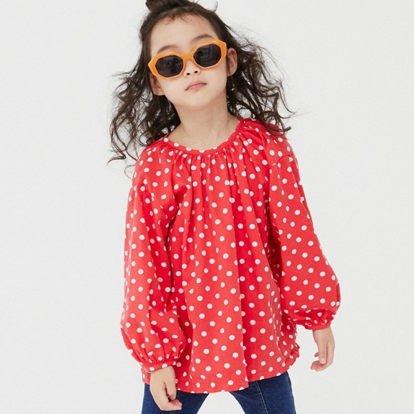 NAVI - BRAND - Korean Children Fashion - #Kfashion4kids - Egg Blouse