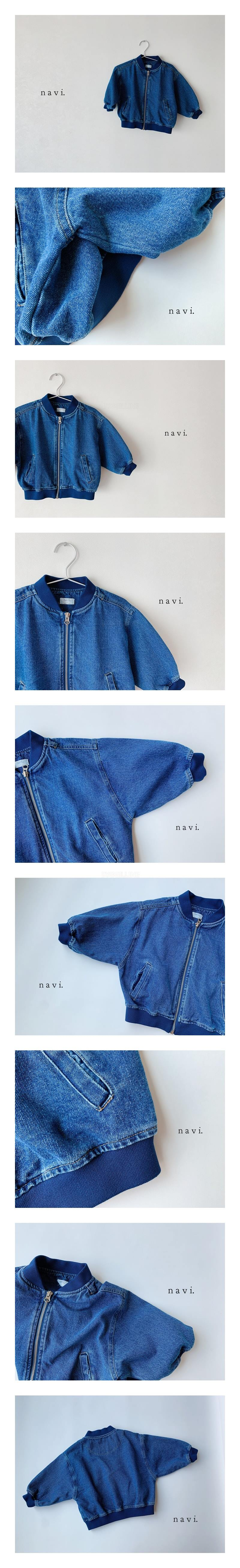 NAVI - Korean Children Fashion - #Kfashion4kids - Boxy Blouson