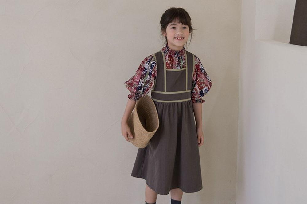 NOUNOU - BRAND - Korean Children Fashion - #Kfashion4kids - Fall One-piece