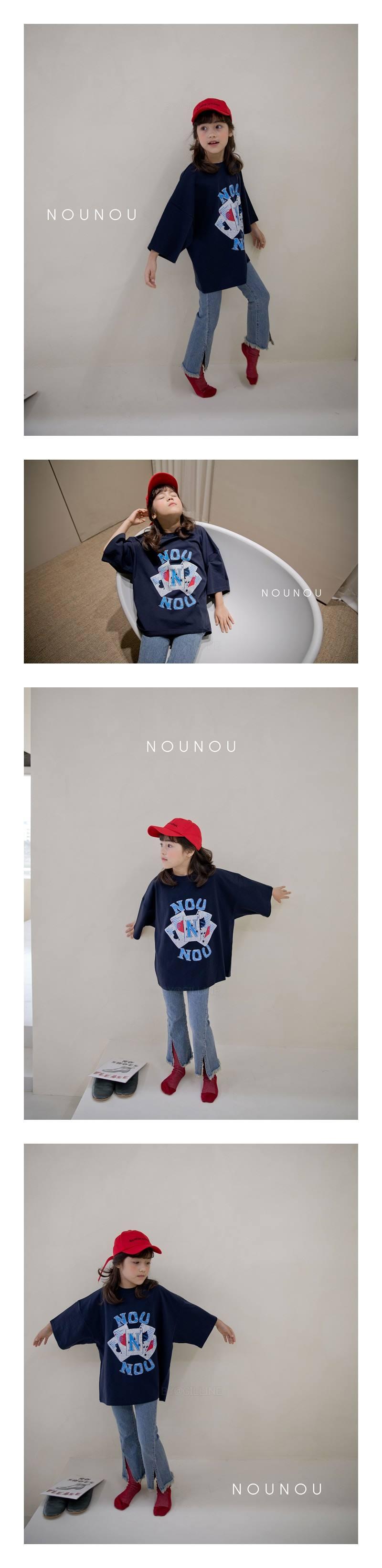 NOUNOU - Korean Children Fashion - #Kfashion4kids - Nounou Card Tee