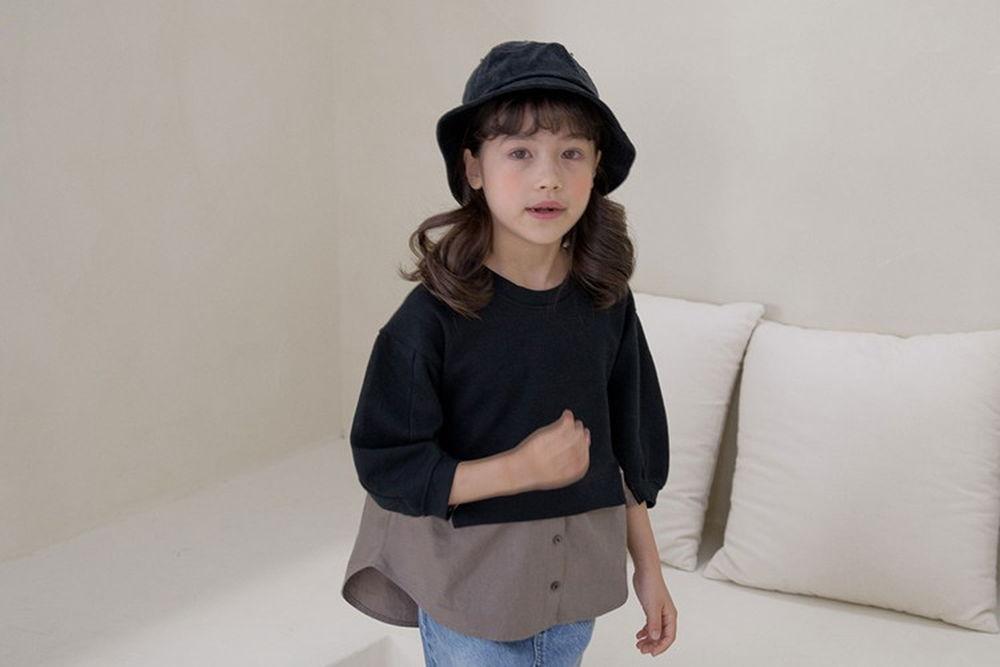 NOUNOU - BRAND - Korean Children Fashion - #Kfashion4kids - MTM Blouse