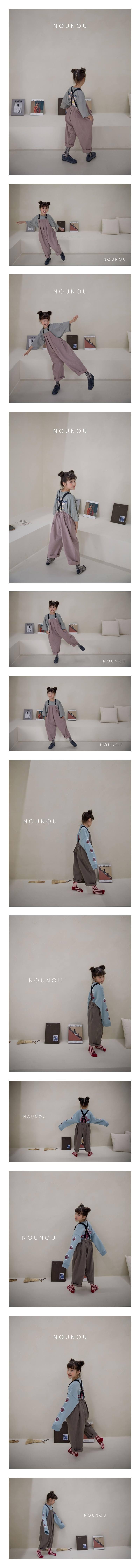 NOUNOU - Korean Children Fashion - #Kfashion4kids - Suspender Pants
