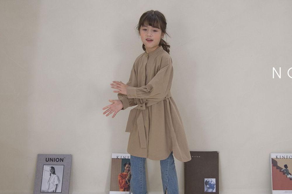 NOUNOU - BRAND - Korean Children Fashion - #Kfashion4kids - Trench One-piece