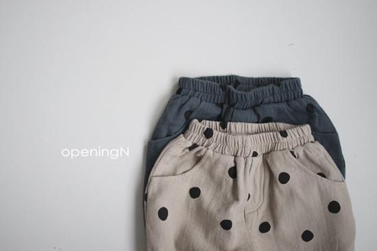 OPENING & - Korean Children Fashion - #Kfashion4kids - Sumi Dot Pants - 2