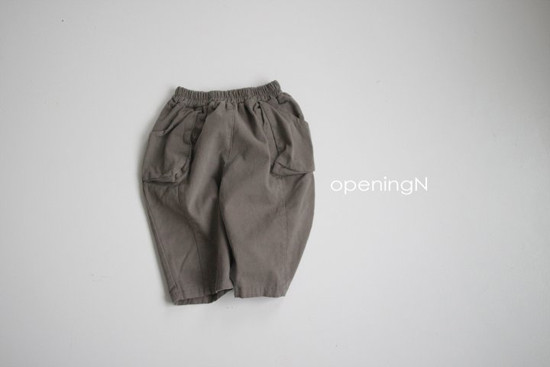 OPENING & - Korean Children Fashion - #Kfashion4kids - Sbuk Pocket Pants - 2