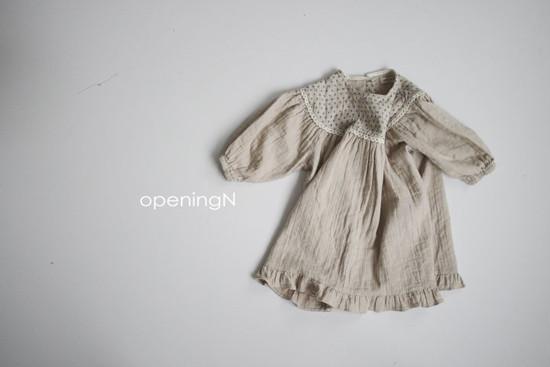 OPENING & - Korean Children Fashion - #Kfashion4kids - Lulu One-piece - 2