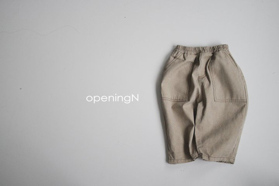 OPENING & - Korean Children Fashion - #Kfashion4kids - Pigment Vintage Pants - 2