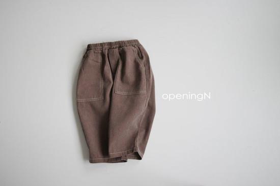 OPENING & - Korean Children Fashion - #Kfashion4kids - Pigment Vintage Pants - 3