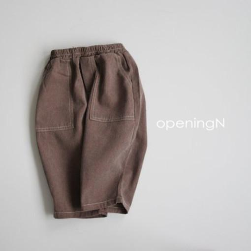 OPENING & - BRAND - Korean Children Fashion - #Kfashion4kids - Pigment Vintage Pants