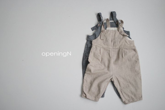 OPENING & - Korean Children Fashion - #Kfashion4kids - Porte Overalls