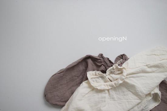 OPENING & - Korean Children Fashion - #Kfashion4kids - Milk Shirring Blouse - 3