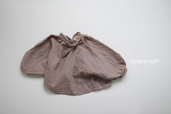 OPENING & - Korean Children Fashion - #Kfashion4kids - Milk Shirring Blouse - 5